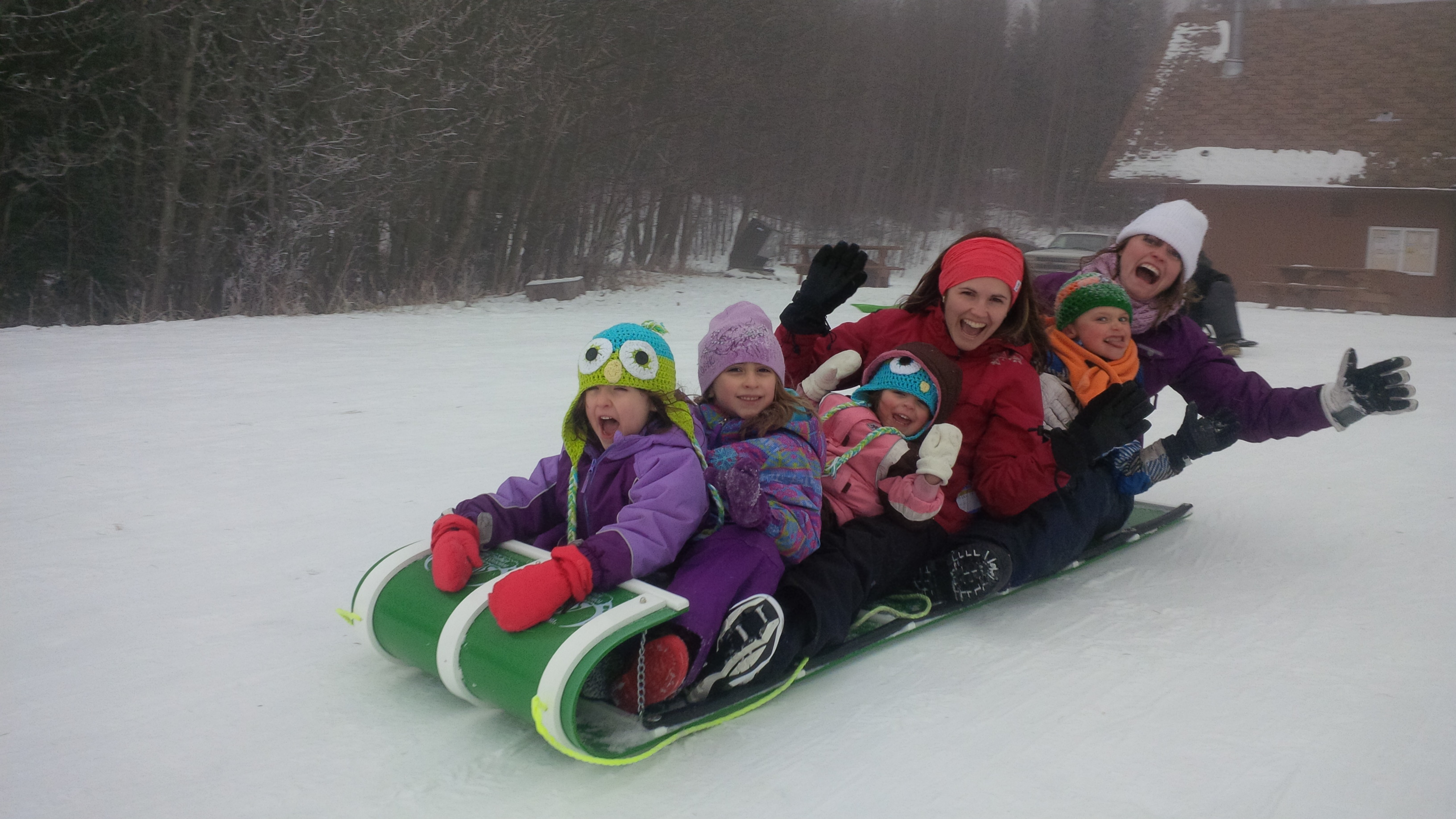 It's a Winter Wonderland! Perfect for your outdoor winter fun!