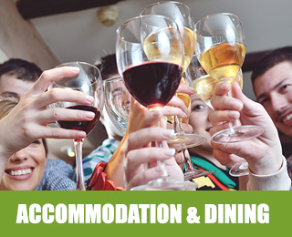 accommodation and dining Alberta
