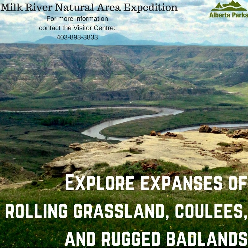 NEW PROGRAM: Milk River Natural Area Expedition